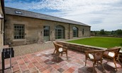 Beeswing - patio and lawned garden