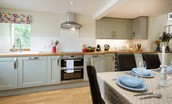 Crosslea - kitchen area