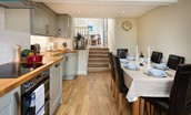 Crosslea - kitchen & access to snug