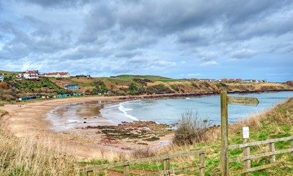 Its pretty village location, just a mile walk from the golden sands of Coldingham Bay.