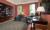 Lorbottle Hall - study/library