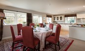 Countess Park - open plan dining room/kitchen