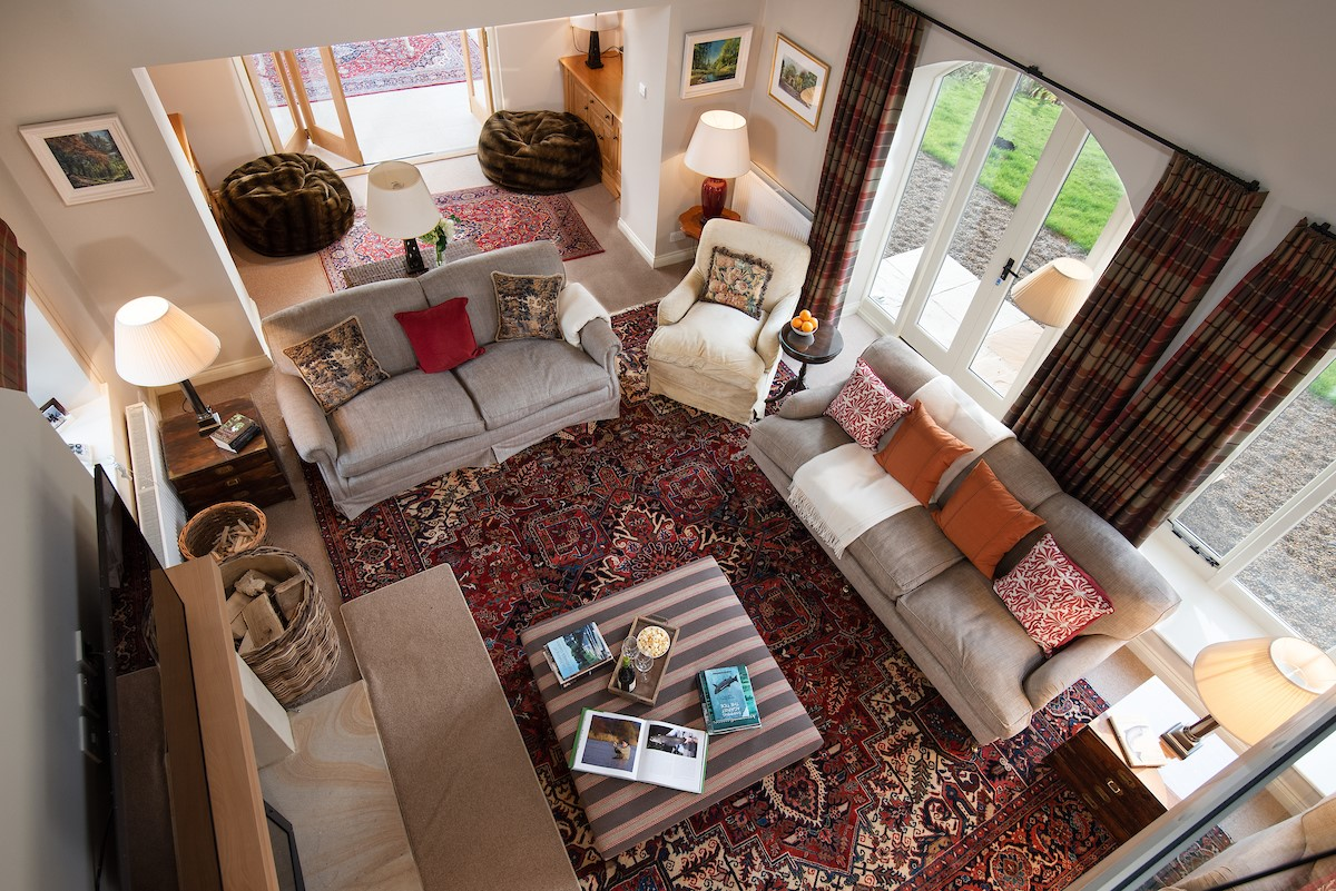 Countess Park - sitting room from the mezzanine floor