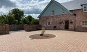 Dryburgh Steadings - courtyard area