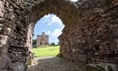 Norham Castle and archway