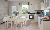 Crailing Coach House - kitchen & dining table
