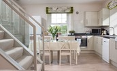 Crailing Coach House - kitchen & dining area