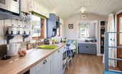 Teasel - kitchen & living areas