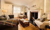 Wren Cottage - cosy sitting room