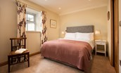 Old Granary House - bedroom three with fixed king size bed