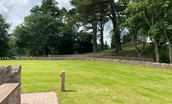 Dryburgh Steadings - communal grounds