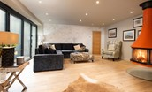Coledale Stables - open plan sitting room area