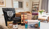 Old Granary House - welcome hamper packed full of local produce from Northumberland