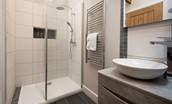 The Smithy at West Lyham - en-suite shower room