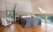 Heiton Mill House - bedroom four/master bedroom