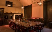 Thirlestane Castle - Victorian kitchen dining area - for exclusive use parties
