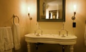 Fenton Tower - The Stewart - en suite bathroom with French double basin