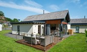 Mallow Lodge - external with outside seating
