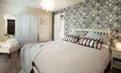 Mallow Lodge - bedroom one