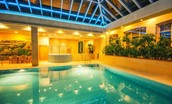 Matfen Hall facilities - pool and jacuzzi