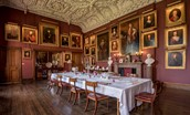 Thirlestane Castle - State dining room - subject to separate arrangement