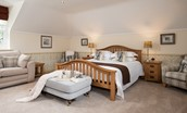 Dryburgh Steading Two - bedroom one