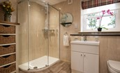 Dryburgh Steading Two - ground floor shower room