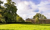 Crailing Coach House - cottage & surrounding grounds