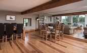 Heiton Mill House - open plan living space