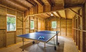 Old Purves Hall - converted stable with table tennis table