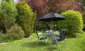 Gardener's Cottage, Elliston - garden furniture