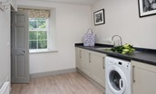 Crailing Coach House - utility room