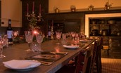 Thirlestane Castle - Victorian kitchen for atmospheric dining - exclusive use parties