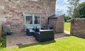 Dryburgh Steading Three - outside seating area